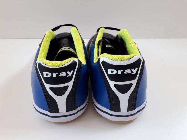 Chuteira Futsal Dray Domínio Masculina - Se ajusta ao pé. Alta performance! 4bedbfe6347de