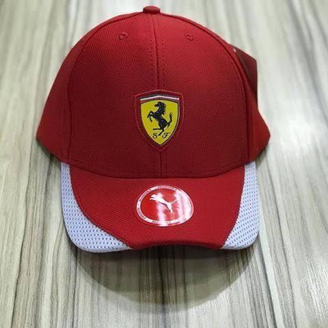 762d0044629 Boné Ferrari Vermelho Puma Novo - Bijouterias