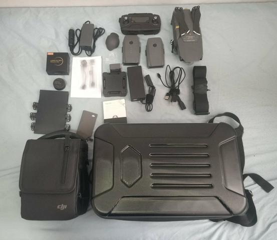 Mavic pro zerado combo 3 baterias e acessórios d6cd721aa2d