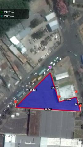 Imóvel asfaltado 2000 m² av abílio machado x av brigadeiro eduardo gomes no alípio de melo - Foto 2