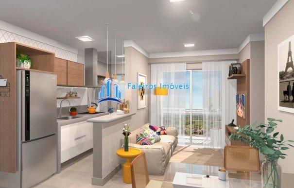 Apartamento 2 dormitórios com sacada e lazer completo MCMV - Apartamento em Lanç... - Foto 9