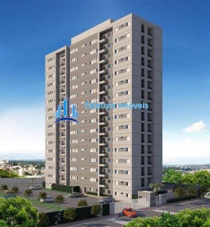 Apartamento 2 dormitórios com sacada e lazer completo - Apartamento em Lançament... - Foto 2