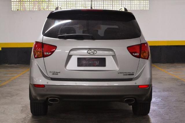 Hyundai Veracruz GLS 3.8 - Blindado Steel - Impecável - Pneus novos - 2010 - Foto 6