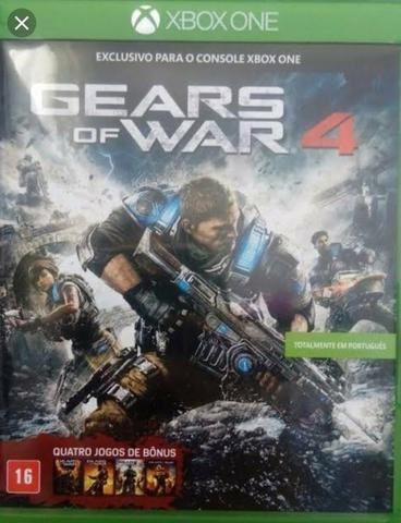 Gears of War 4 - Xbox One + Toda a Coletânea (4 Jogos)
