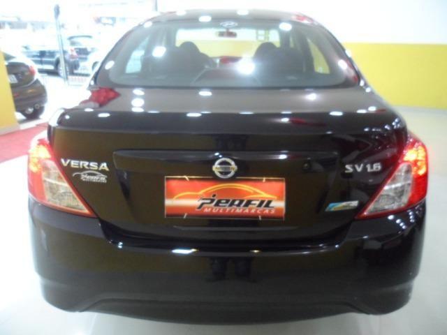 Nissan Versa 1.6 Sv flex Praticamente 0km (Aprovo com Score Baixo e por Telefone) - Foto 13