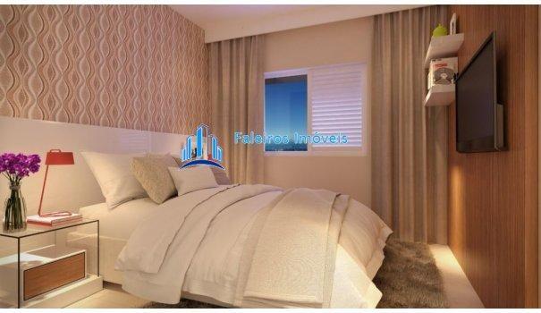 Apartamento 2 dormitórios com sacada e lazer completo - Apartamento em Lançament... - Foto 12