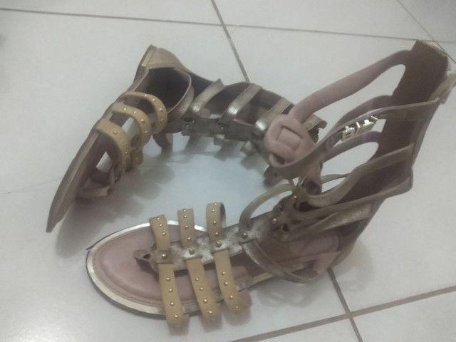 Sandália gladiadora - Foto 4