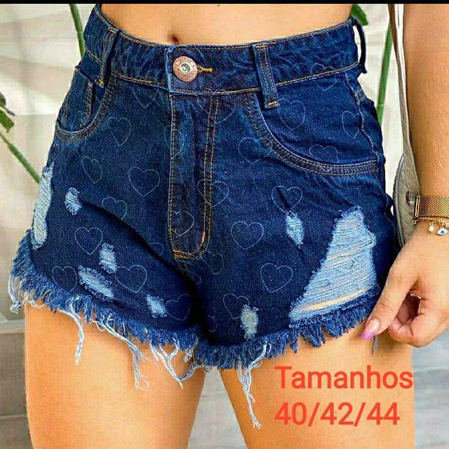 Shorts jeans 100% - Foto 3