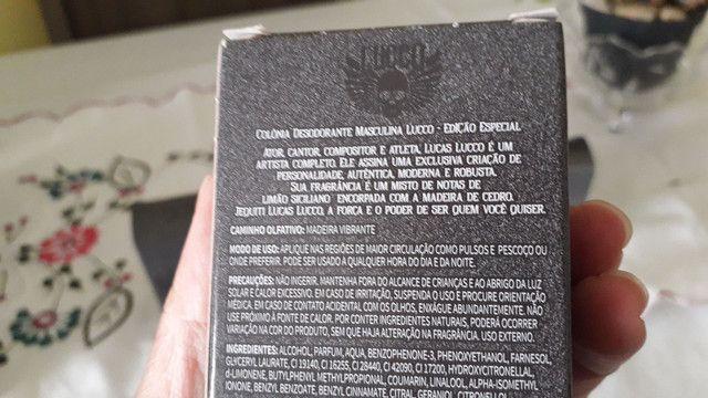 Colônia LUCCA LUCCO 25ml  - Foto 4