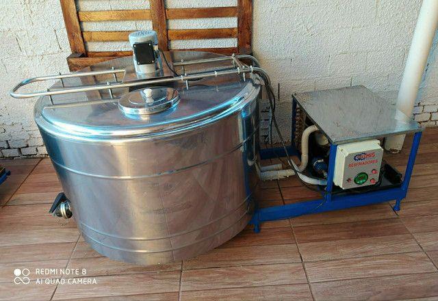 Refrigedor de Líquidos em Inox A Granel Semi Novo 300 Litros  - Foto 5