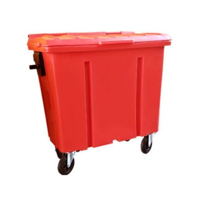 Container de Lixo 1000 Litros com Rodas sem Pedal - Novo - Foto 3