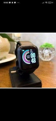 Smart Watch Y68 Esportivo de 1,3? com Monitor Fitness/Cardíaco.Novo - Foto 4