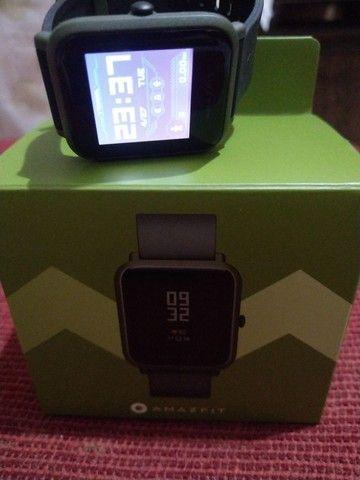 AMAZFIT BIP COM GPS Semi novo na caixa   - Foto 4