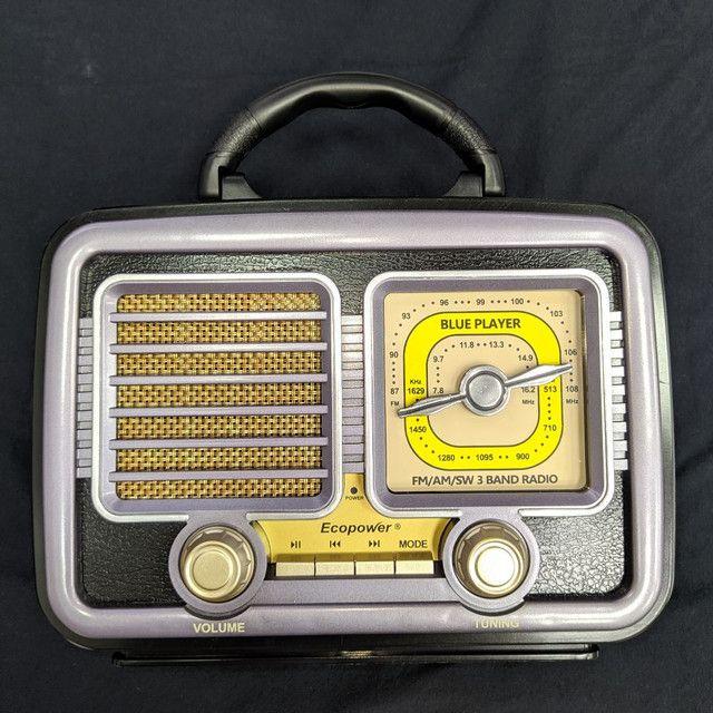 Rádio Portátil Ecopower EP-F226B