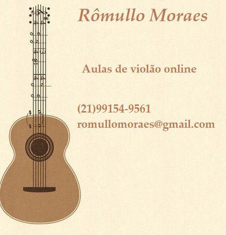 Aula de violão online