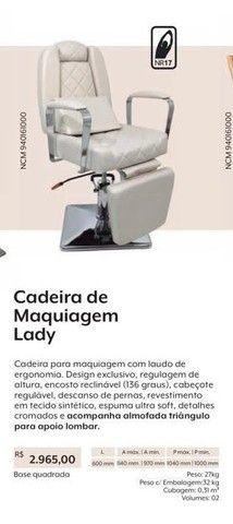 Cadeira de maquiagem e estética