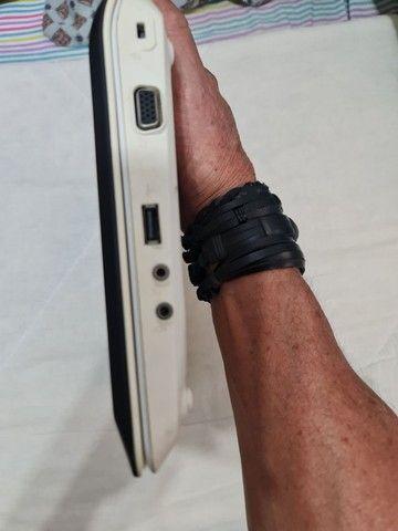 Netbook LG X140 tela de 10 pol. (BATERIA E TECLADO RUIM) - Foto 6