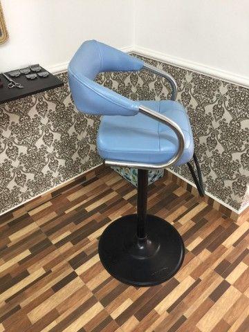 Cadeira de corte infantil barbearia