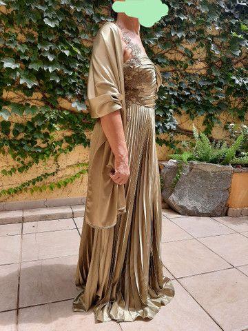 Vestido longo luxo - Foto 6