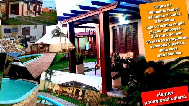 Casa diferenciada com piscina 4d centro pinhal
