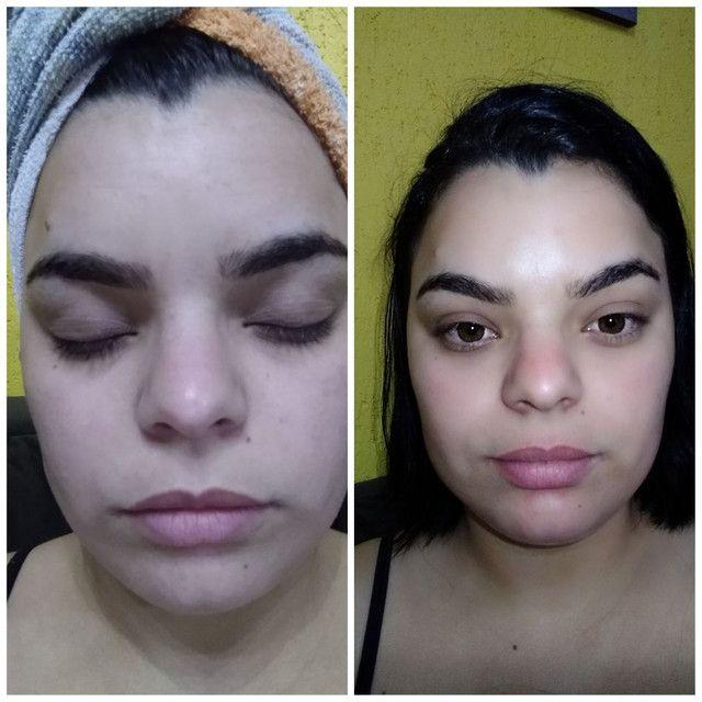 Limpeza de pele, extensão de cílios, design de sobrancelhas - Foto 5