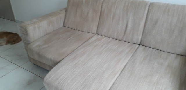 Sofa retratio +estante +3cadeiras madeira pura