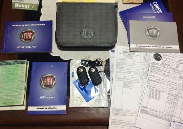 Fiat bravo 2013 essence Dualogic completo c/ GNV 5a geraçã - Foto 3