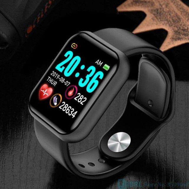 Smart Watch Y68 Esportivo de 1,3? com Monitor Fitness/Cardíaco.Novo - Foto 5