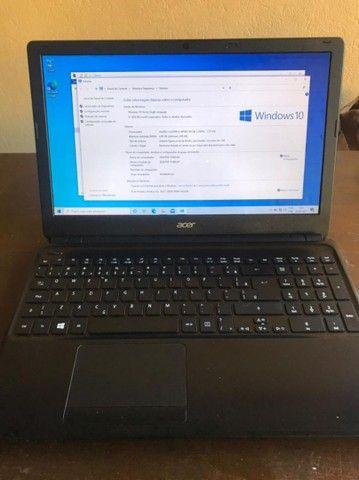 Notebook Acer E1-572 i3 4010U 1.7GHz 4gb memoria 500gb hd