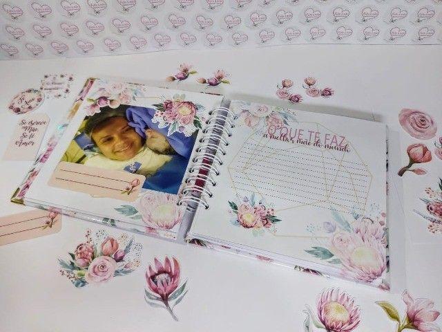 Álbum de recordações Dia das Mães - Foto 4