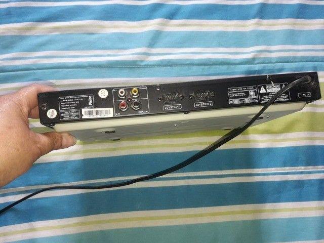 Dvd Player Game Ph170 372 Jogos - Philco....zap * - Foto 3