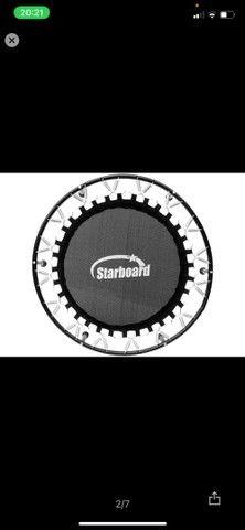 Trampolim Starboard até 100 kg - 30 molas  - Foto 2