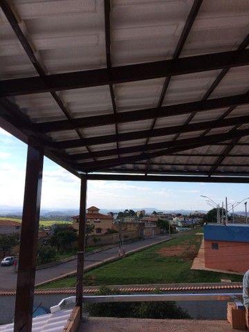 Telhados coloniais com estrutura metálica - Foto 6