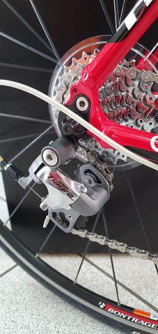 Bicicleta Trek road 1.2 alumínio 18 velocidades. - Foto 4