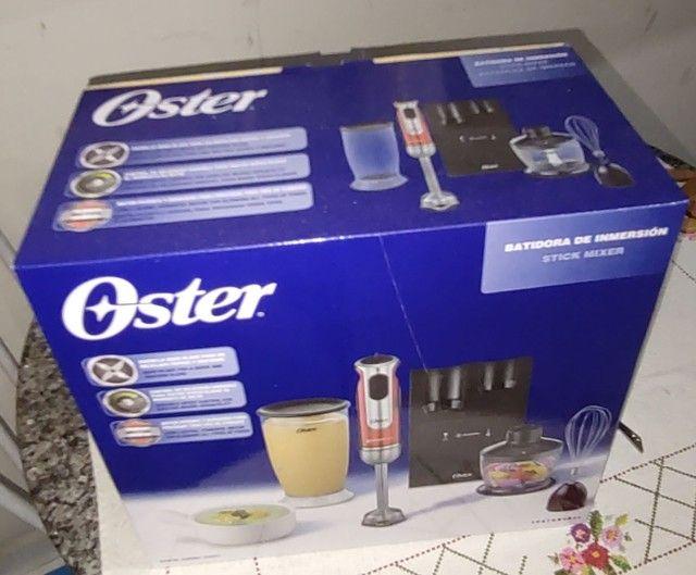Mixer High Power 800W 220V - Oster - Cor: vermelho na Caixa, novinho