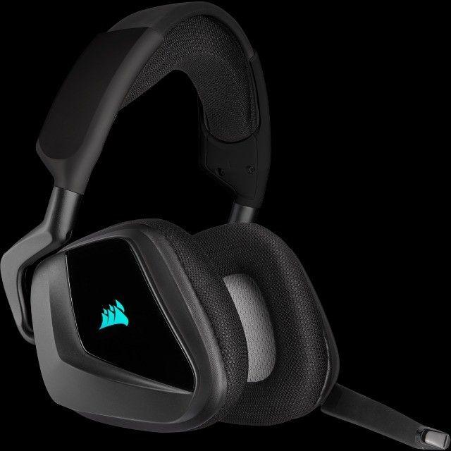 Headset Gamer Corsair Void Elite Wireless, RGB, 7.1 Surround - Foto 6