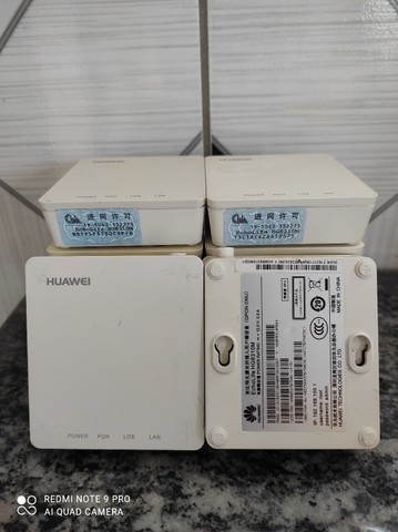 Lote 10 unidades de ONU gpon Huawei hg8310m