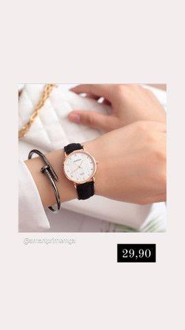 Relógio feminino novo  - Foto 2