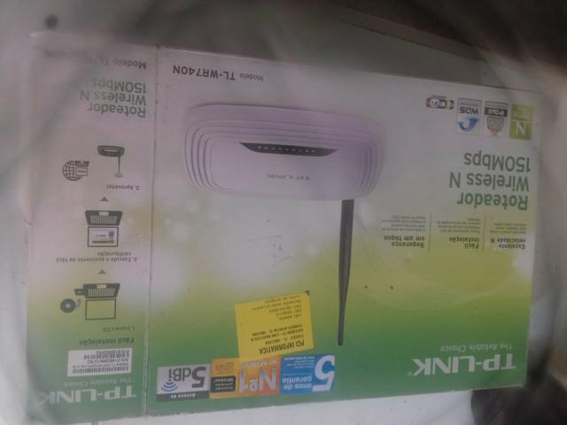 Vendo roteador wireless 150 mbps