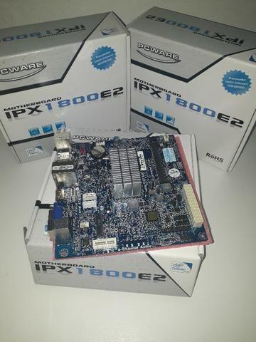 Placa Mãe PCWare IPX1800E2 com Celeron Dual-Core 2.41GHz, HDMI e m-SATA (S,V,R)