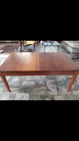 Mesa peroba mica conservada