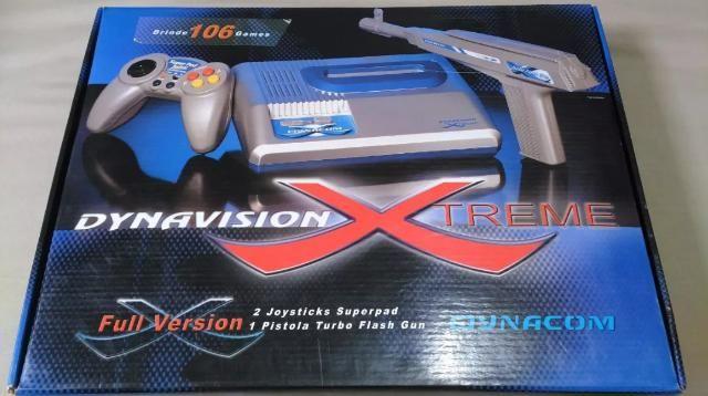 Dynavision Extreme NOVO, com 106 jogos