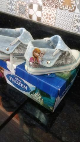 Sapatinho Frozen