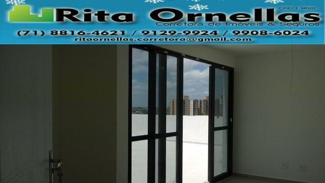 Apartamento 2/4 -Residencial Vista Bella - Porcelanato- Pastilhado