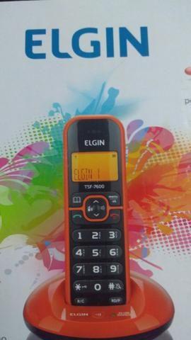 Telefone sem fio (aceito cartão)