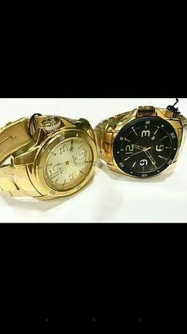 Relógio original aprova d'água Avista ou em até 10 vezes em todos os dias ?