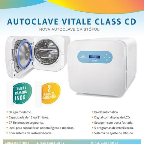 Autoclave Cristofoli Vitale Class CD 21
