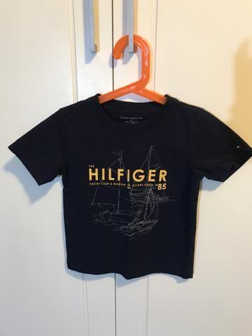 Camiseta Tommy infantil menino 3 anos
