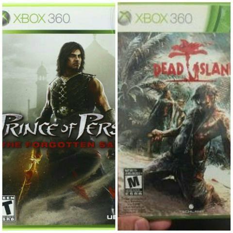 Jogos de xbox 360 (2 jogos)