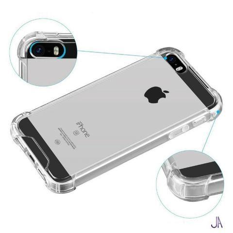 ea2f7019404 Capa Case Capinha Anti Impacto Silicone TPU - Iphone Transparente ...